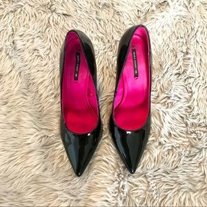 Zara Basics Black Pumps